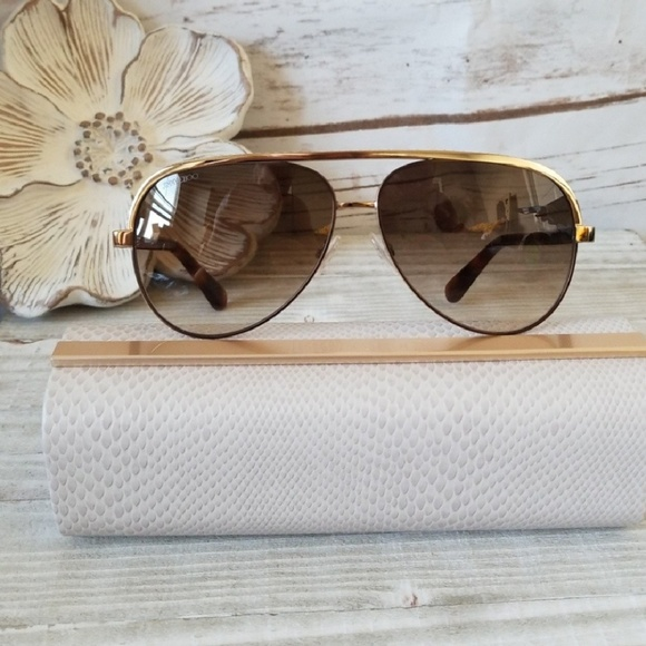 26e36823161b 🌞JIMMY CHOO - Linas 59mm Aviators🌞NWT🌞
